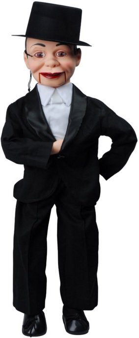 Charlie McCarthy Dummy Ventriloquist Doll