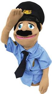 Melissa Police Officer Puppet