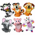 Animal puppet set