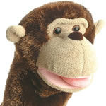 Aurora world monkey puppets