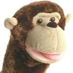 Aurora world monkey puppets