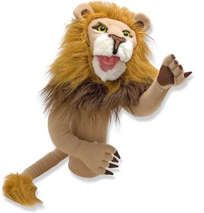 Melissa & Doug lion hand puppet