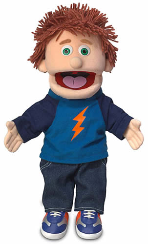 Tommy Peach Boy Hand Puppet