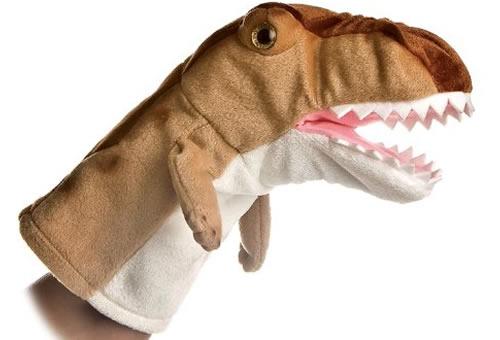 T-rex puppet