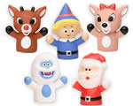 Christmas finger figurines