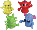 Dozen Assorted Color Finger Puppets