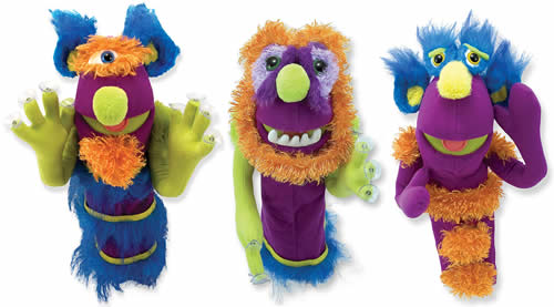 Melissa and Doug monster puppet