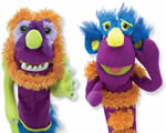 Melissa and Doug puppets