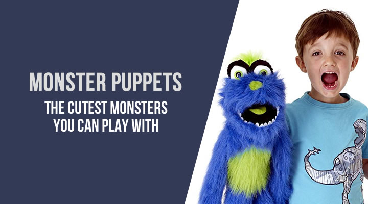 Monster puppets for kids