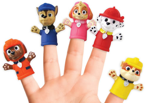 Nickelodeon Paw Patrol puppets