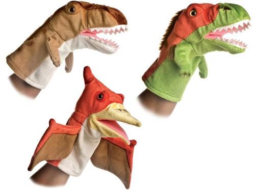 Aurora Dinosaur Puppets
