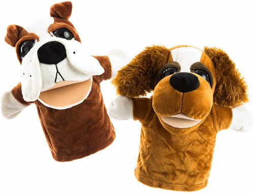 Betterline Puppy Dog Hand Puppet