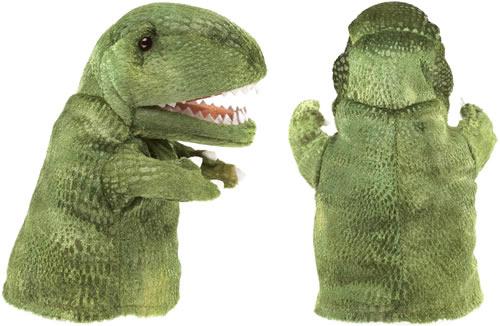 Folkmanis t-rex hand puppet