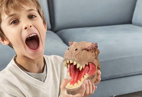 Lebze dinosaur hand puppet