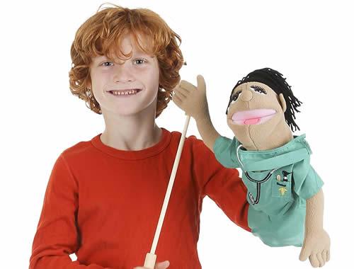 Melissa & Doug puppets