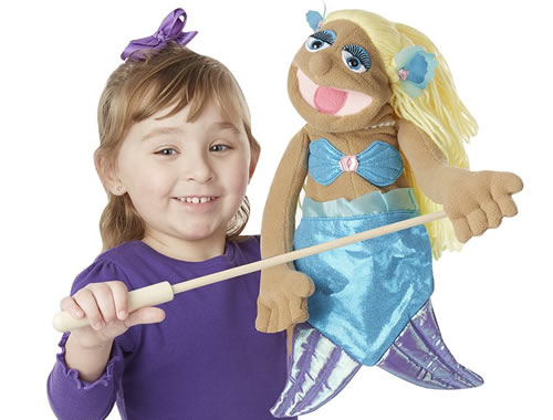 Melissa and Doug hand puppet