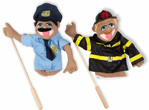 Melissa and Doug rescue puppet set