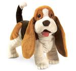 Puppy dog hand puppet