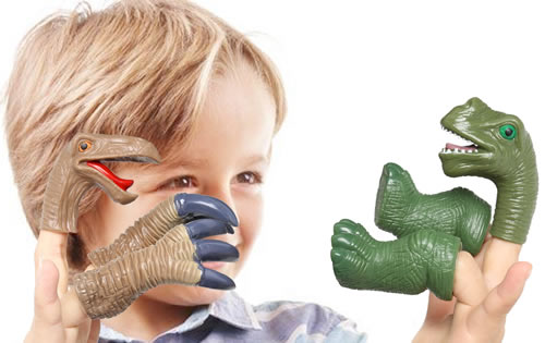 Rainbow Yuango Dinosaur Finger Puppets