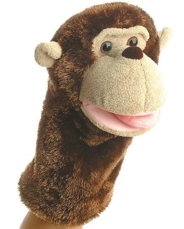 Aurora World Montgomery Monkey Hand Puppet