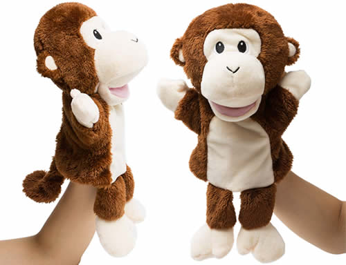 HollyHome Monkey Hand Puppet