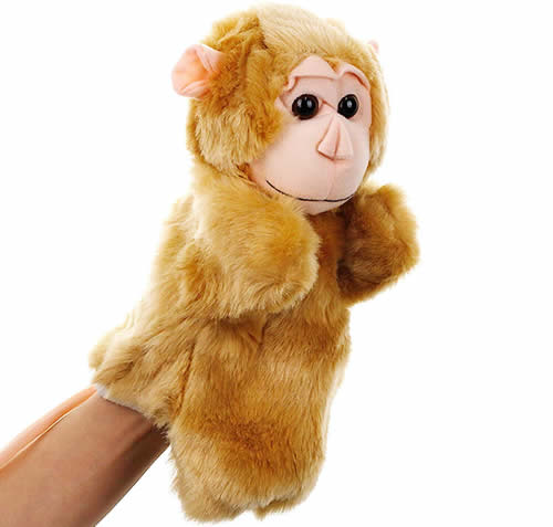 SweetGifts Monkey Hand Puppet